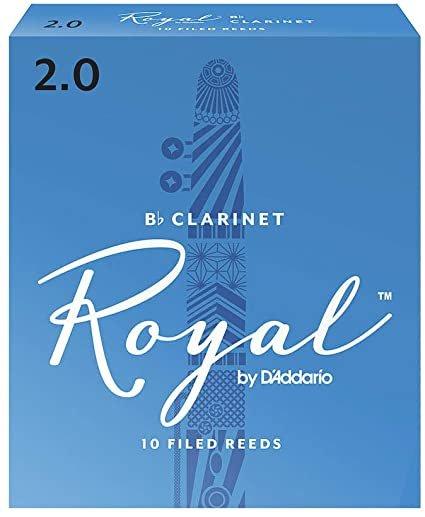 Rico Royal Bb Clarinet 2.0, 10-Pack RCB1020