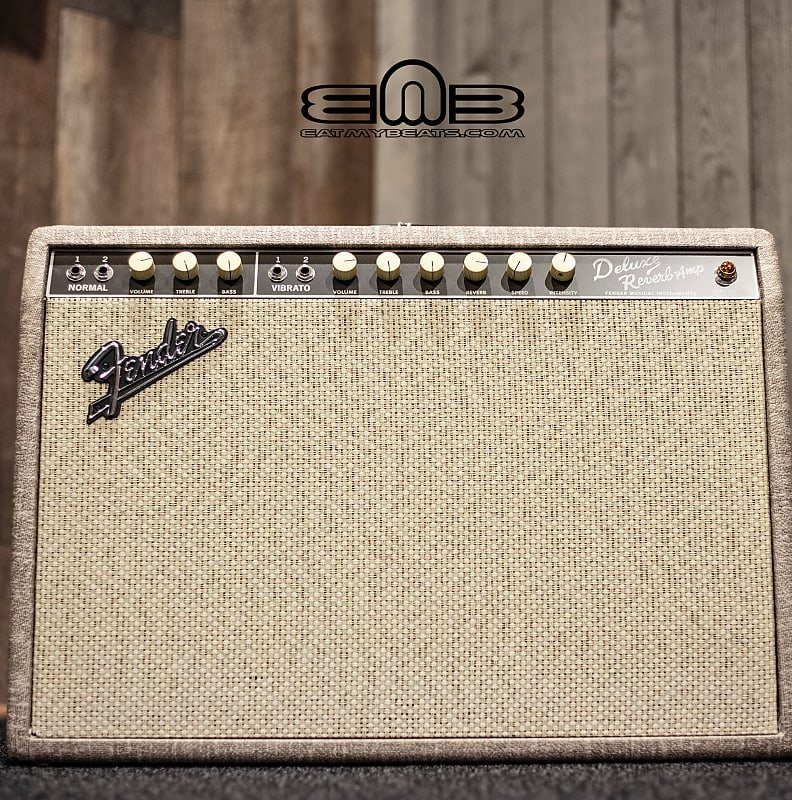Fender '65 Deluxe Reverb Fawn Limited Edition Tube Guitar Amp
