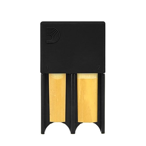 Rico Bb Clarinet / Alto Sax Reed Guard, Small, Black DRGRD4ACBK
