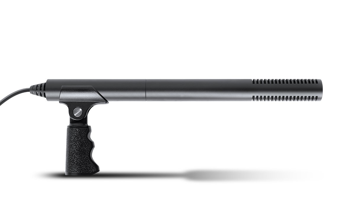 Marantz SG-5BC Audio Scope Battery-Powered Shotgun Microphone w/ Attached Cable and 3.5 mm Mono Plug