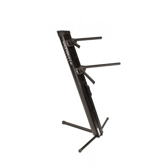 Ultimate Support AX-48 PRO B Black Two Tier keyboard stand