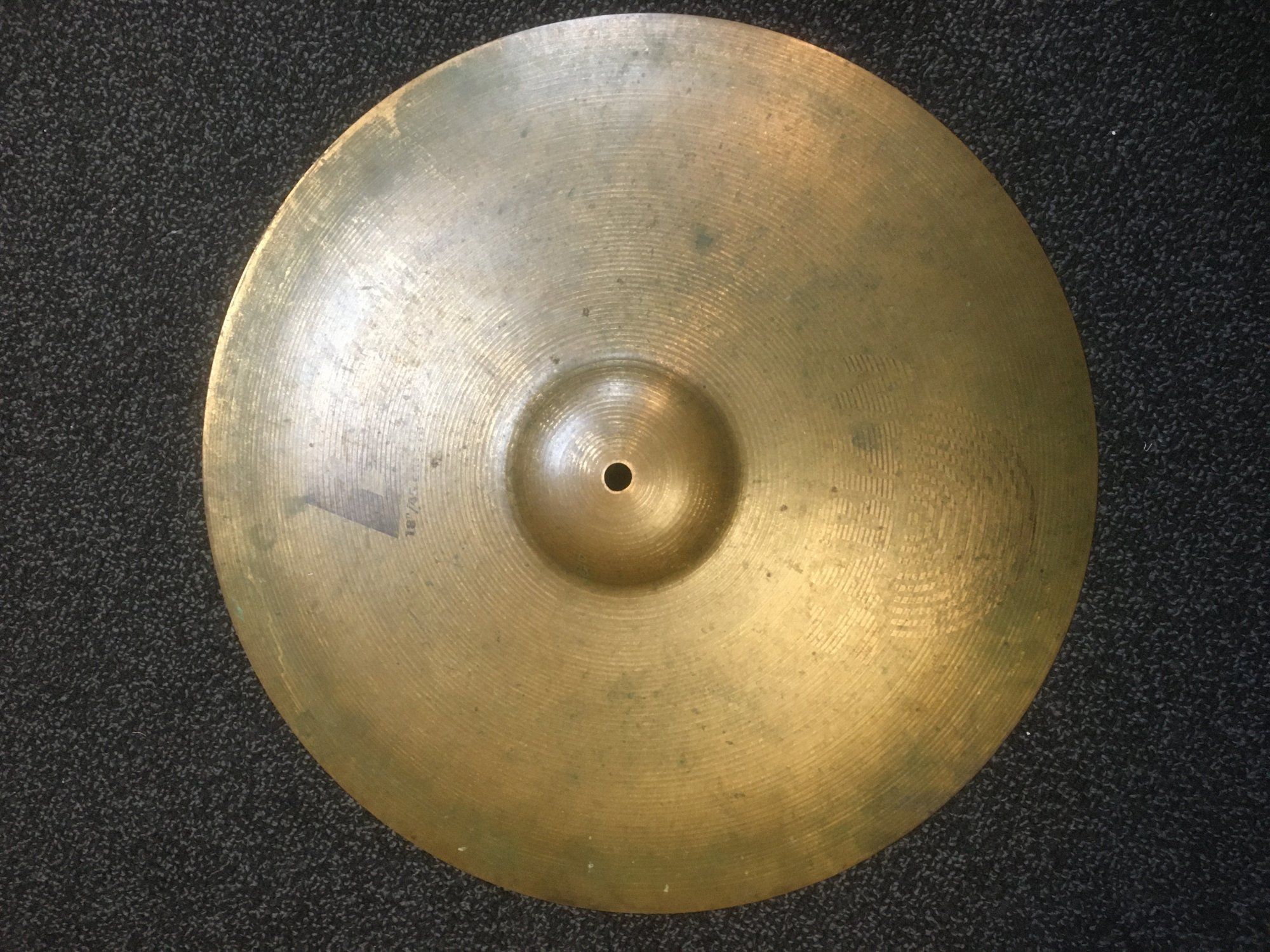 USED Sabian 18 B8 Crash Ride