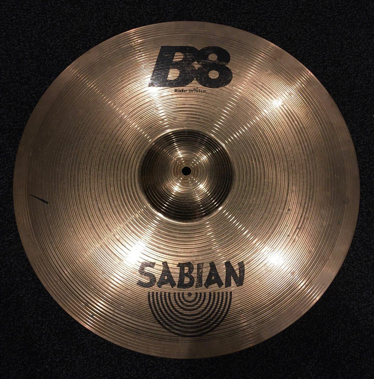 B8 20 Ride Cymbal 42012 - Used