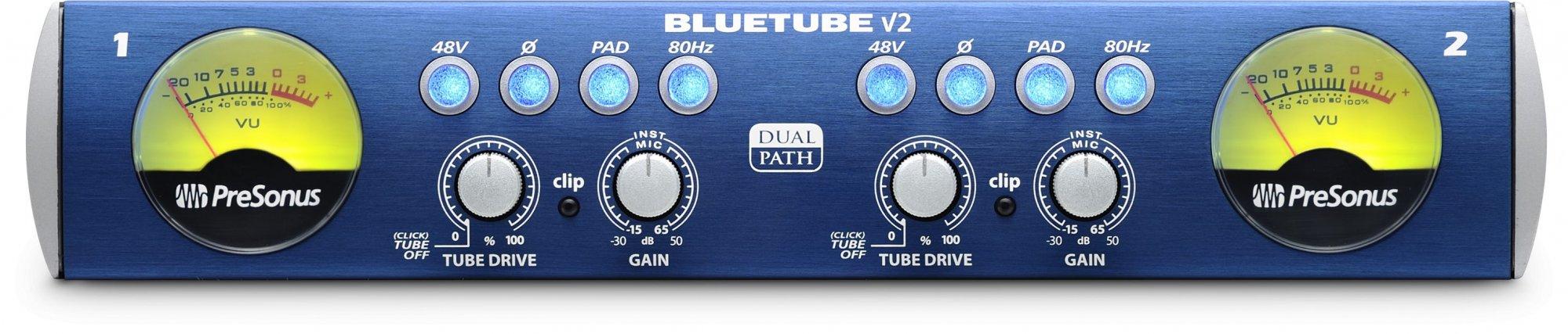 Presonus Bluetube DP V2 Studio Microphone Preamplifier