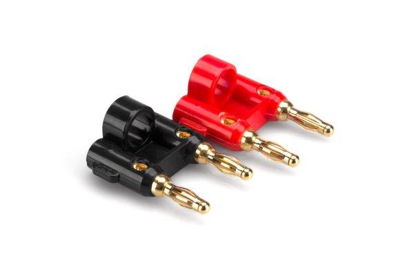 Hosa BNA-240 Dual Bannana Connectors