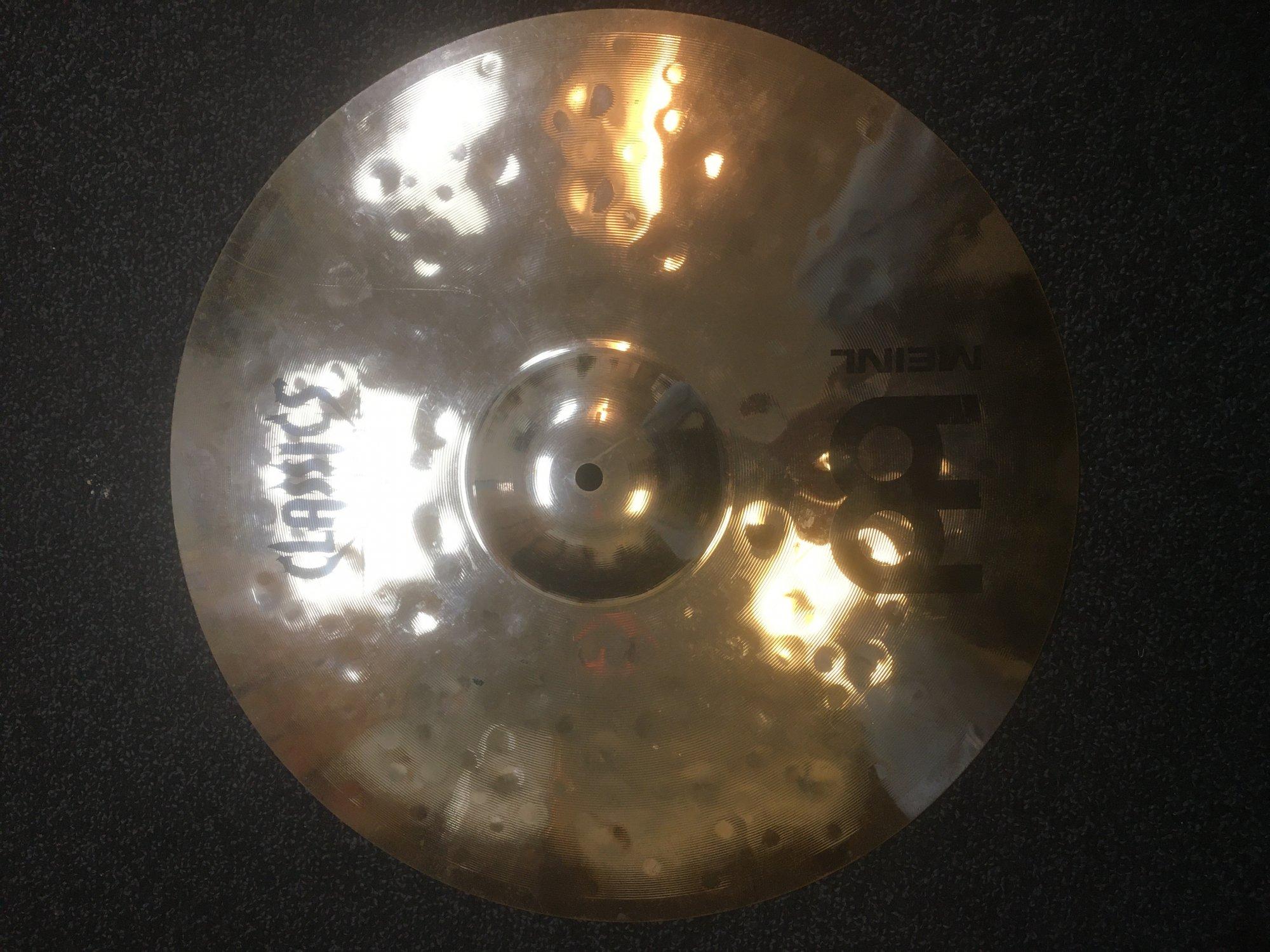 Meinl CC18EMC-B Classics Custom Extreme Metal 18 Crash Cymbal - USED