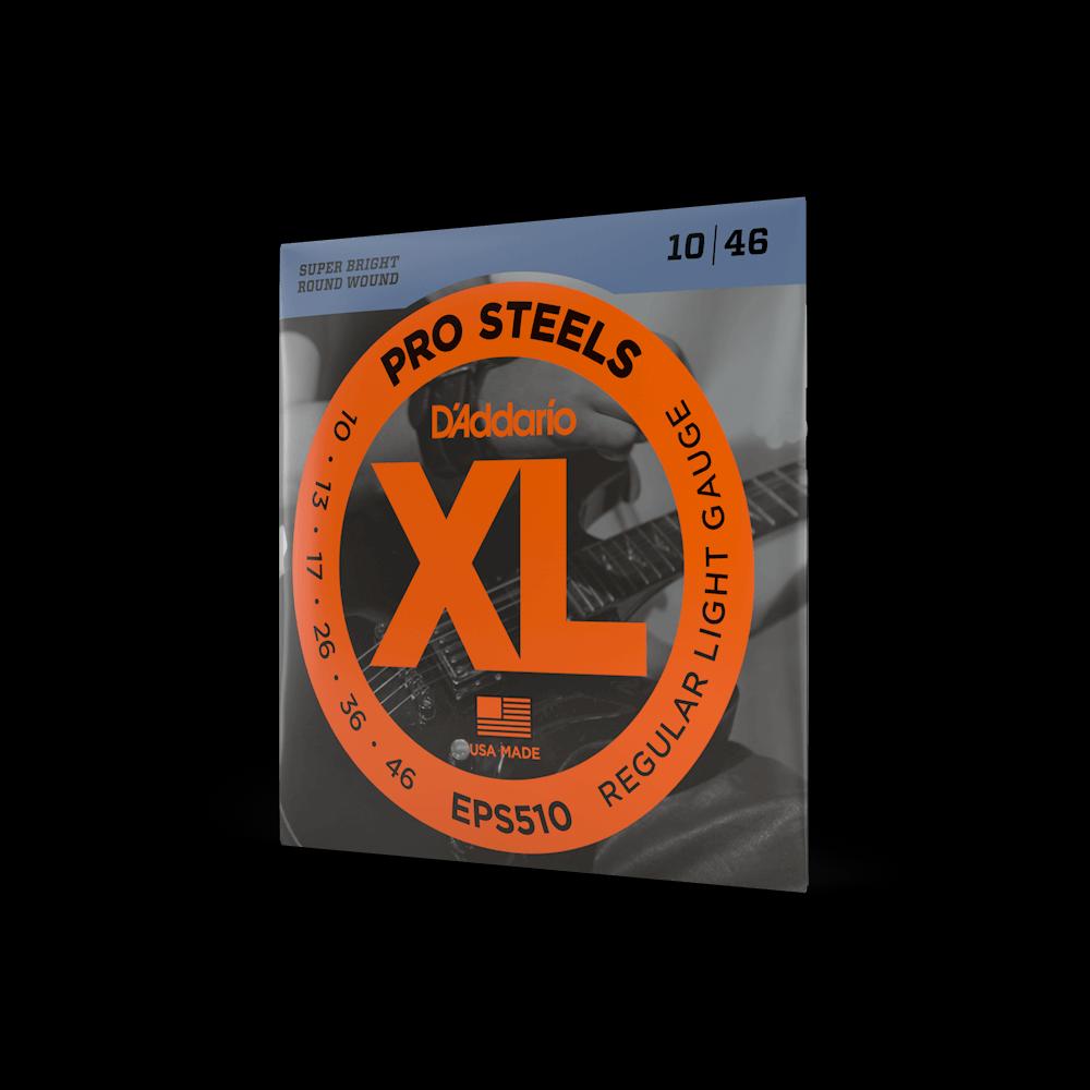 D'Addario EPS510 XL Pro Steels 10-46