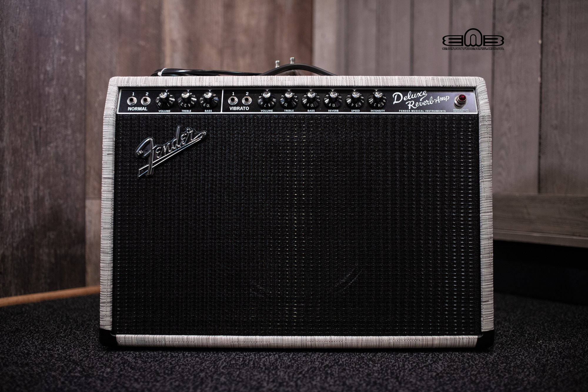 Fender FSR '65 Deluxe Reverb Chilewich Chalk Creamback