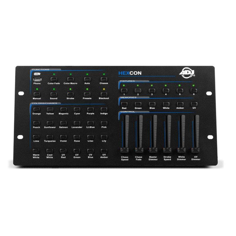 ADJ HEX001 Hexcon 36 Channel DMX Lighting Controller