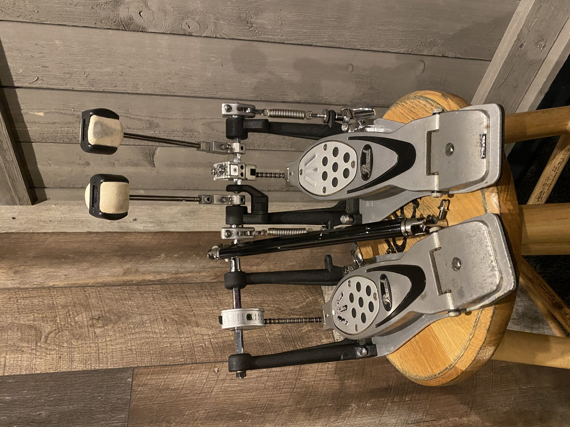 Pearl Power Shifter Double Kick Bass Drum Pedal w/ Case - Used