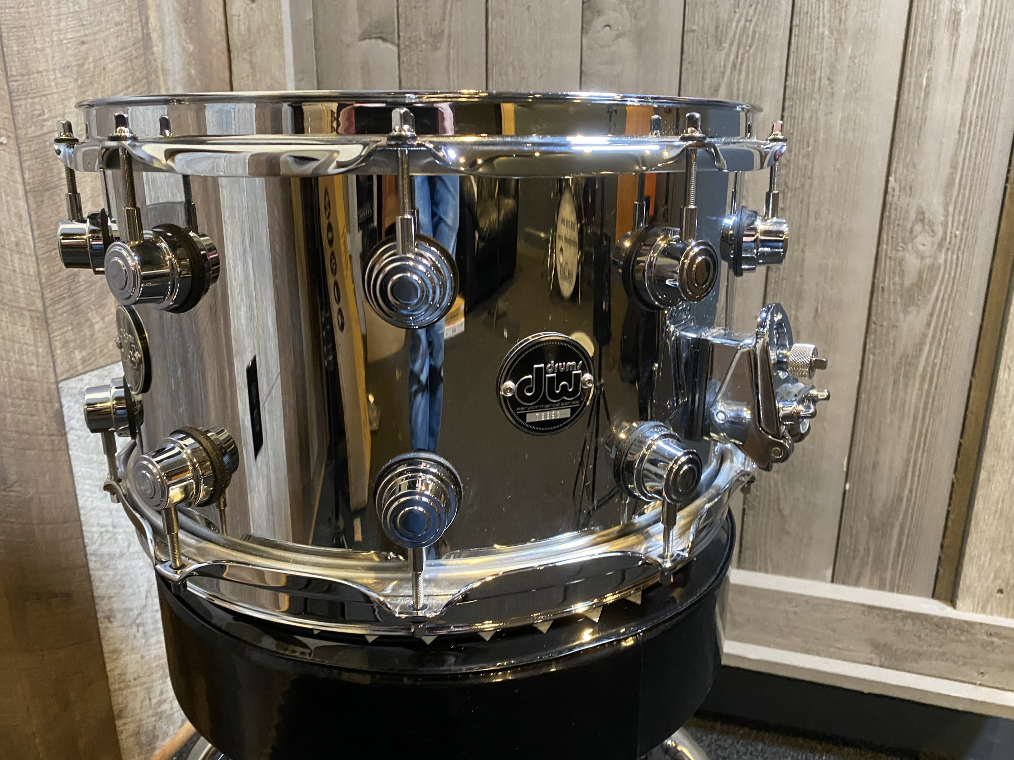 DW Performance Series Steel Snare 8 x 14 with Carrying Case - Used