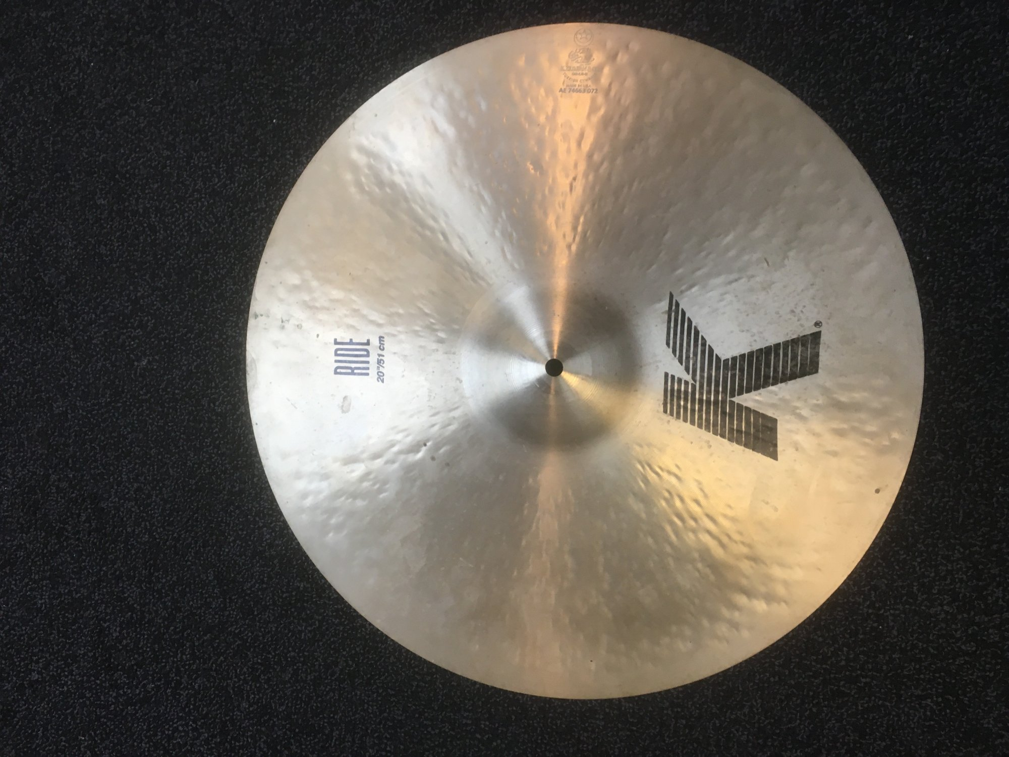 Zildjian K0817 20 K Series Ride Cymbal - USED
