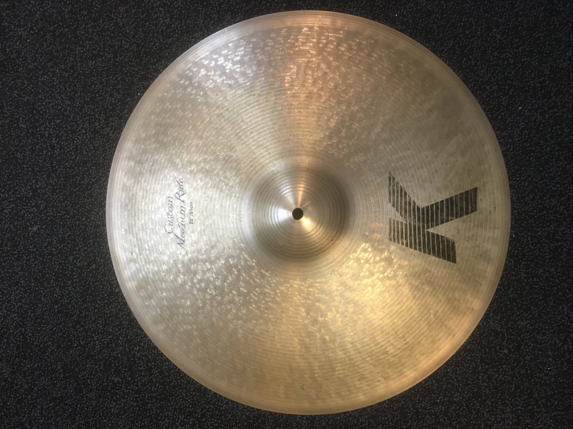 Zildjian K0854 20 K Custom Medium Ride - USED