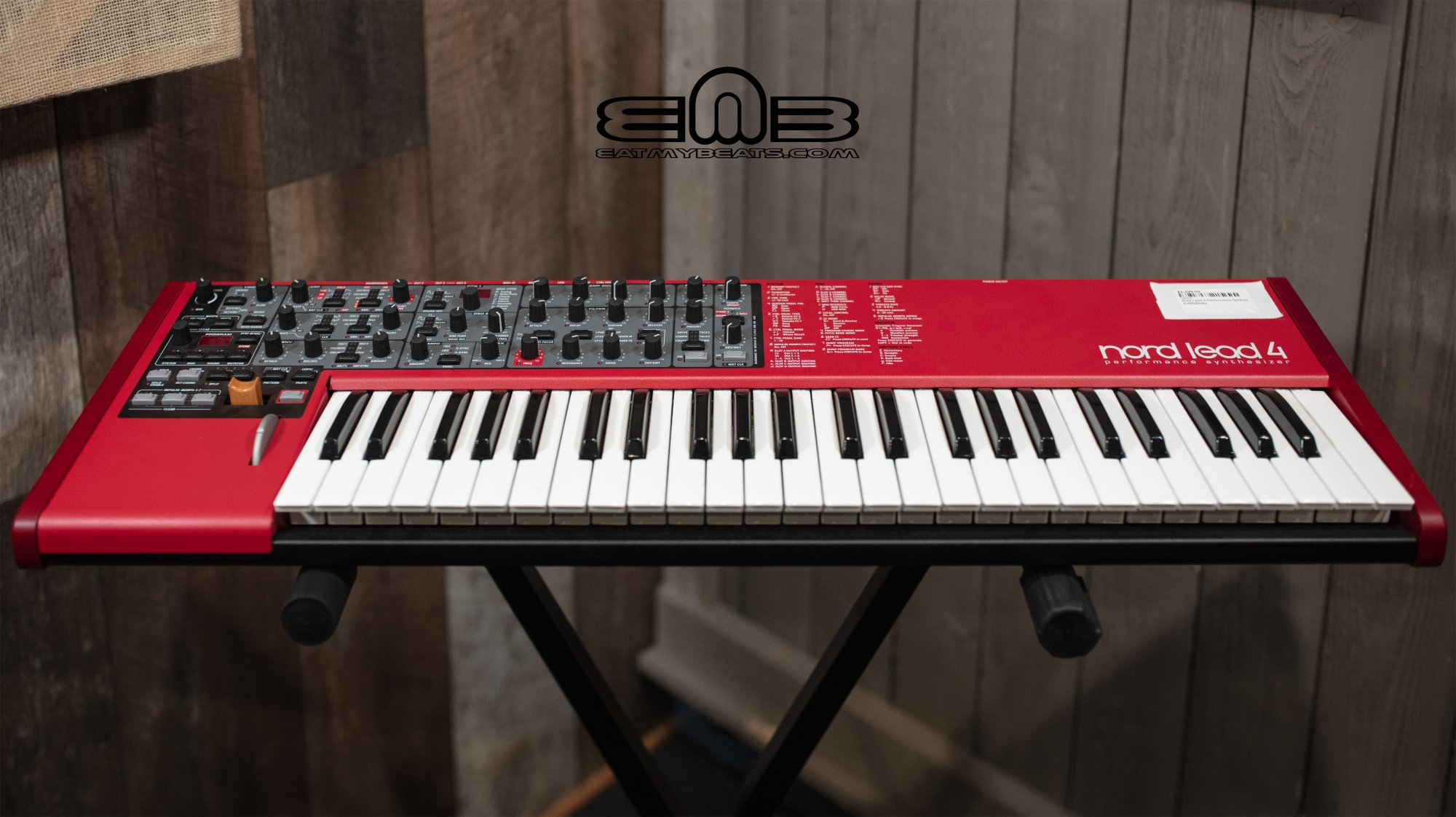 Nord Lead 4 Performance Synthesizer - Showroom Demo Deal!