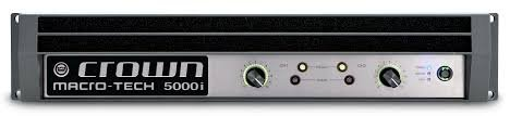 Crown Macro-Tech 5000i Amp Rental