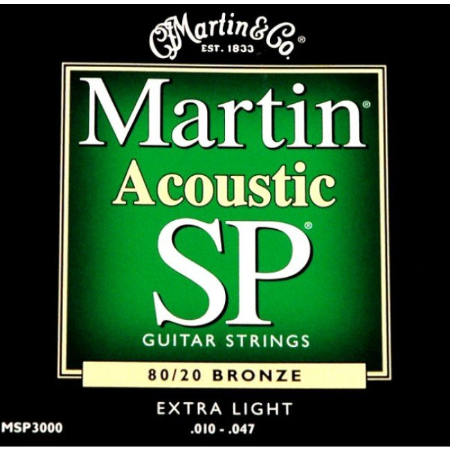 Martin and Co Acoustic SP guitar strings