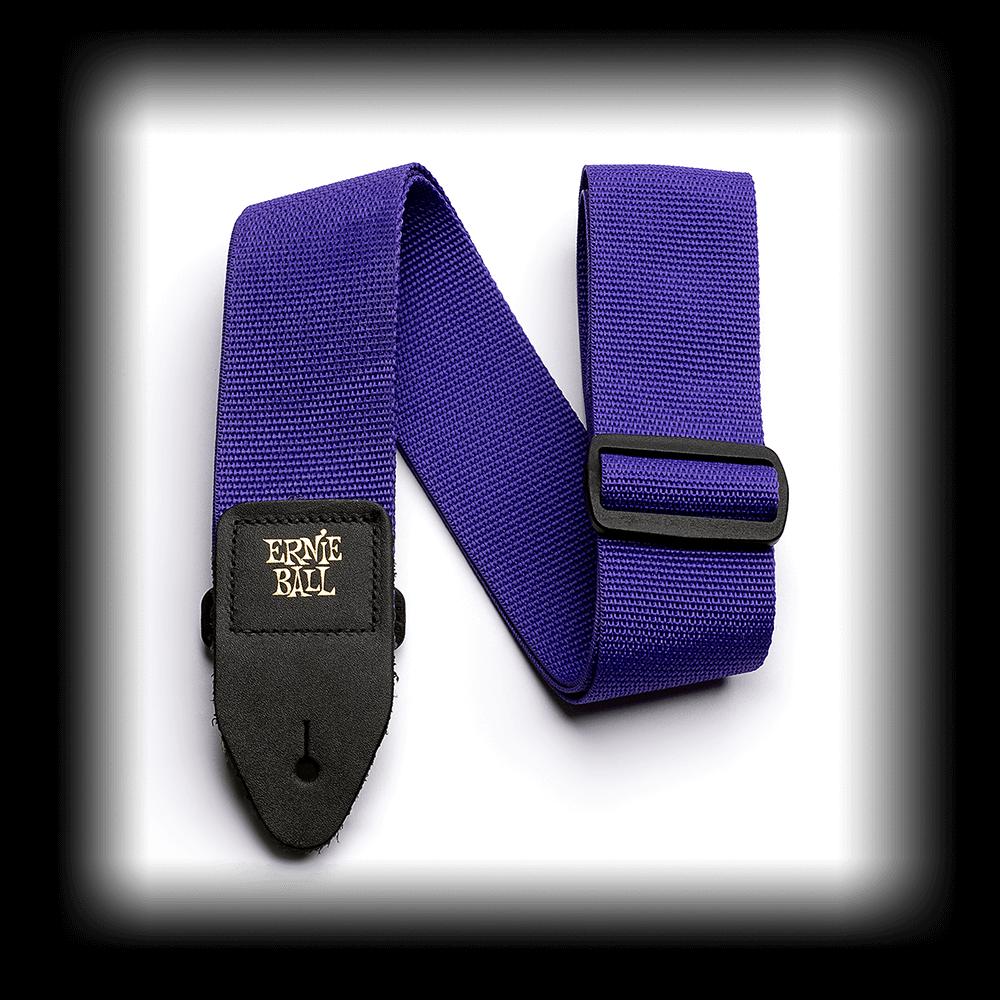 Ernie Ball 4045 2 EB Purple Guitar Strap
