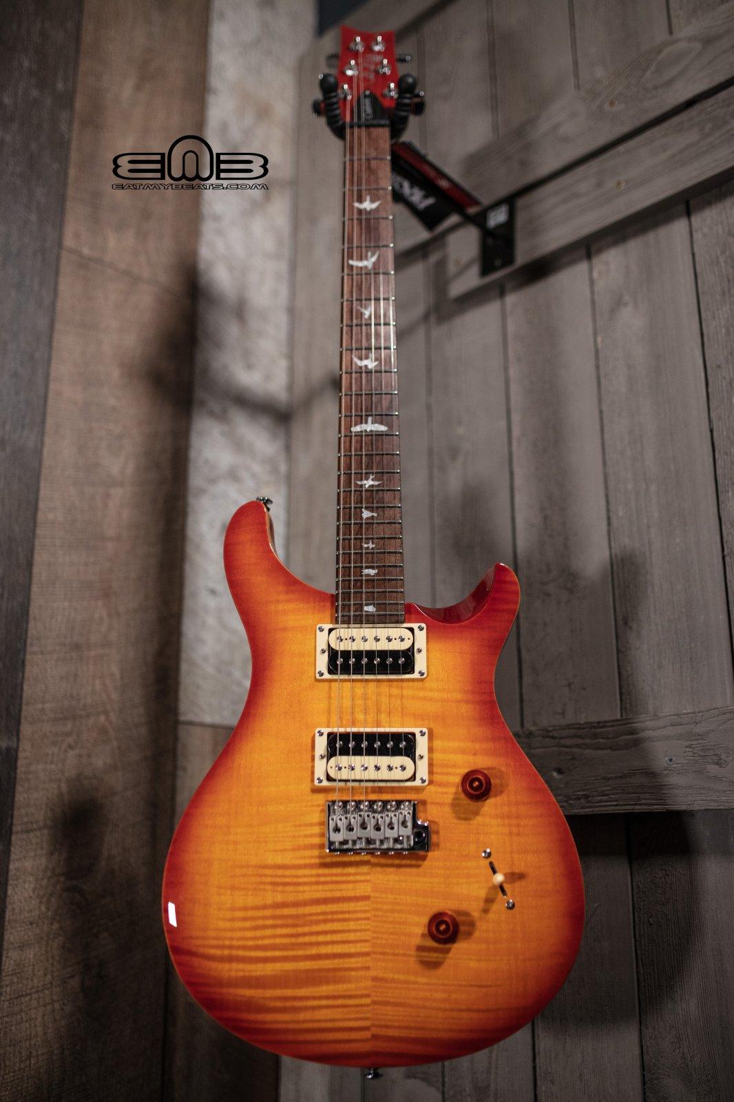 PRS SE Custom 24 Electric Guitar - Vintage Sunburst