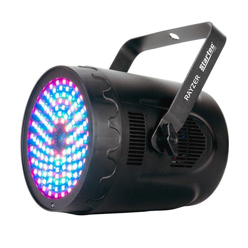American DJ Rayzer Startec 2 in 1 DMX DJ Party Light w/ Laser & RGB FX  RAY129