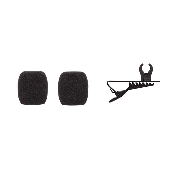 Shure RK376 Replacement LAV clips (2) and 1 windscreen