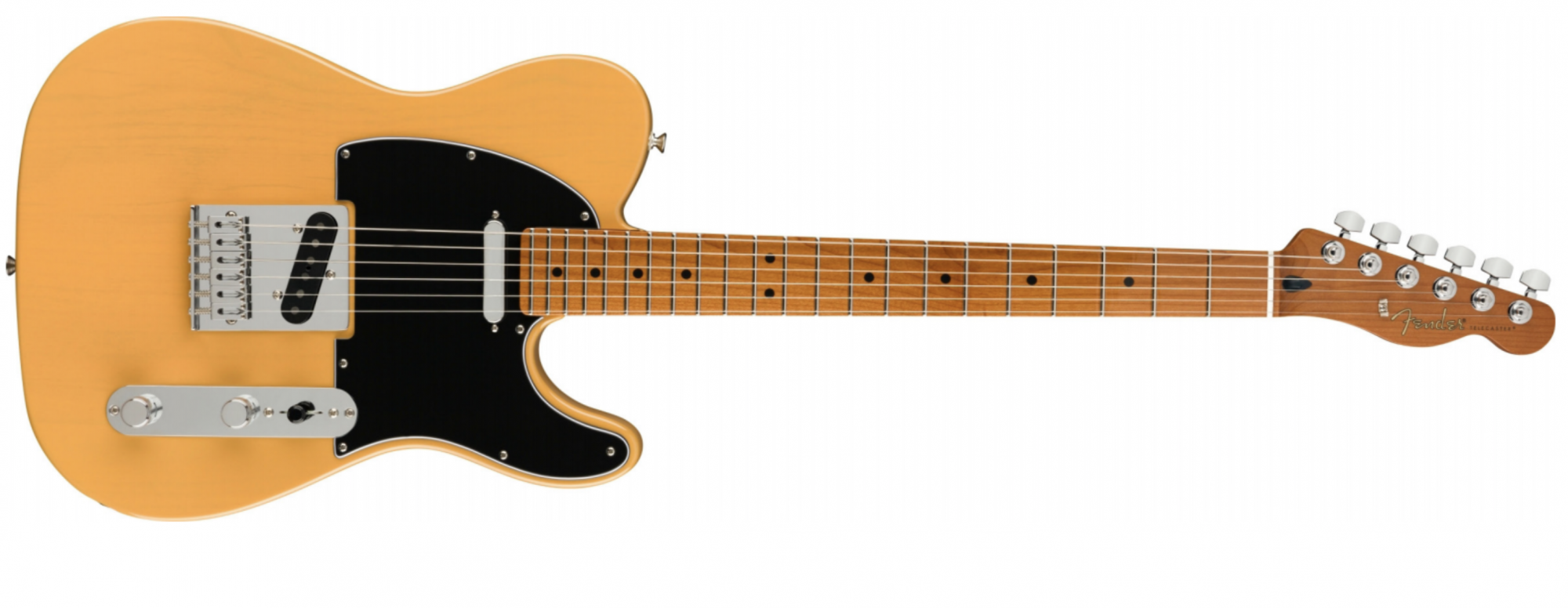 Fender Limited Edition Player Telecaster with Roasted Maple Neck, Maple Fingerboard, Butterscotch Blonde 0144581550