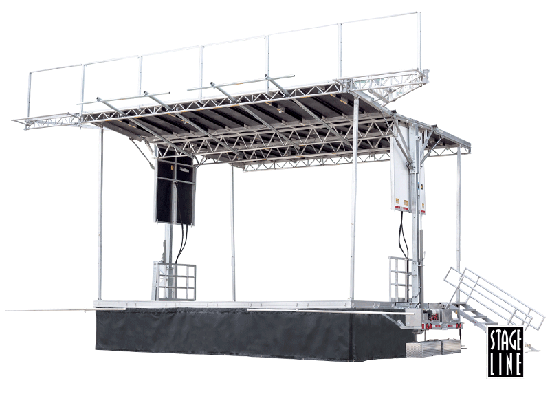 Stageline 100 Hydraulic Stage Rental