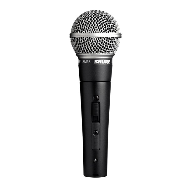 Shure SM58S Vocal Mic with on/off switch