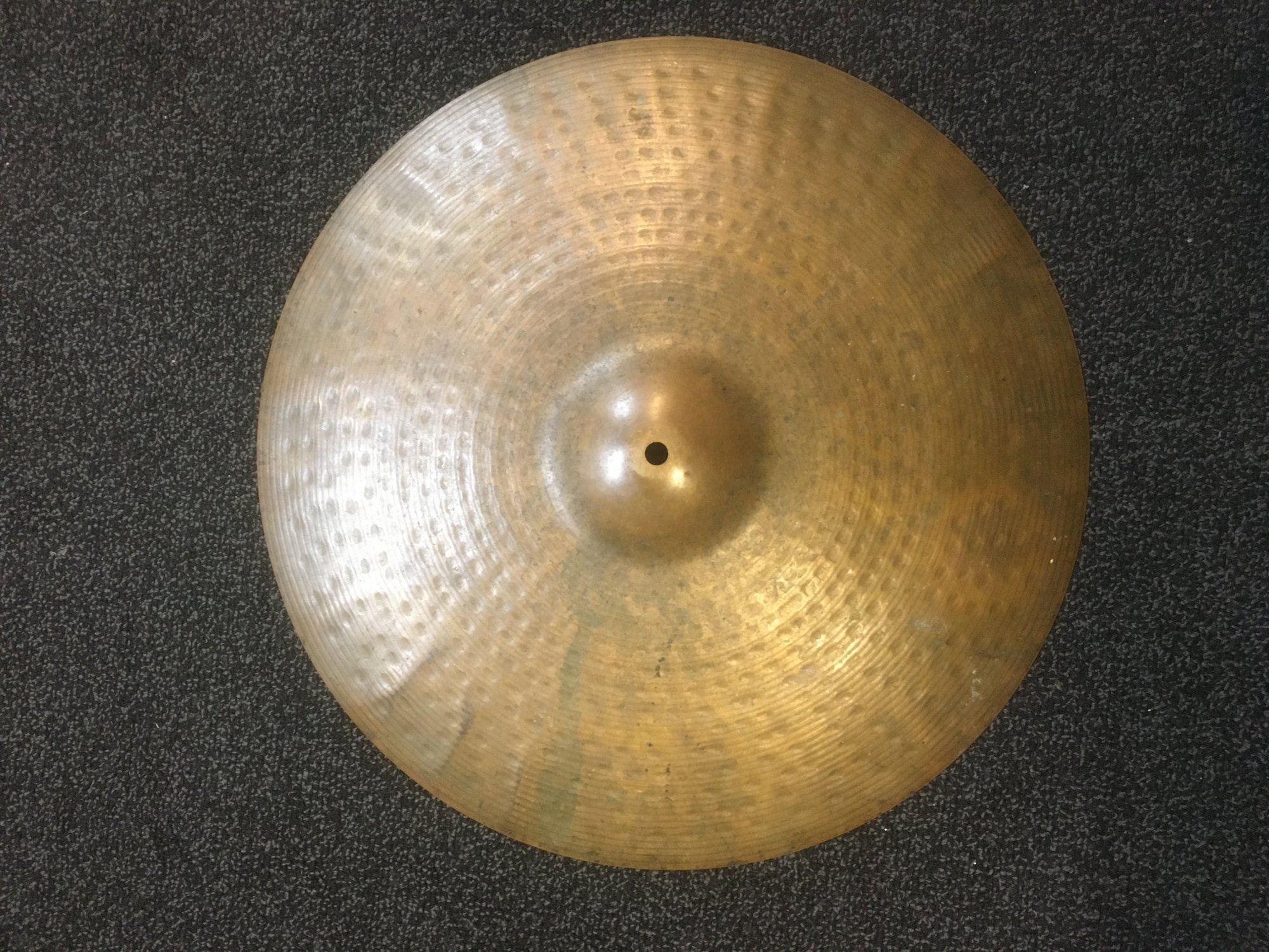 Zildjian 20 Ride Cymbal - USED