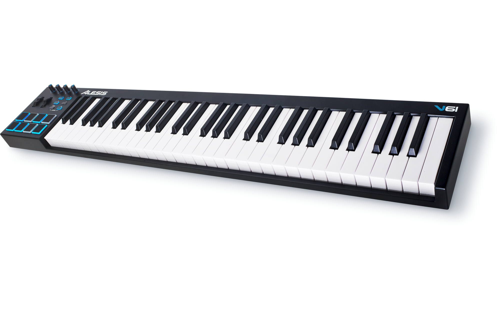 Alesis V61 61 Key USB Music Keyboard Controller w/ Pads