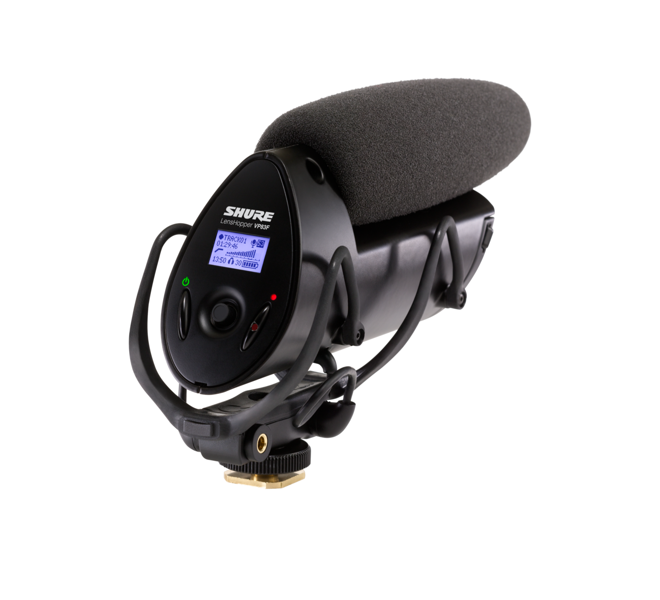Shure VP83F LensHopper with Flash -Camera Mounted Shotgun Microphone