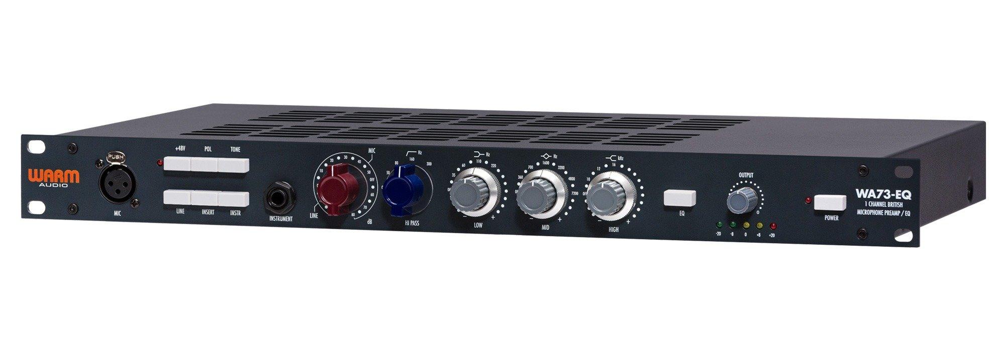 Warm Audio WA73-EQ One Channel British Mic Pre & EQ
