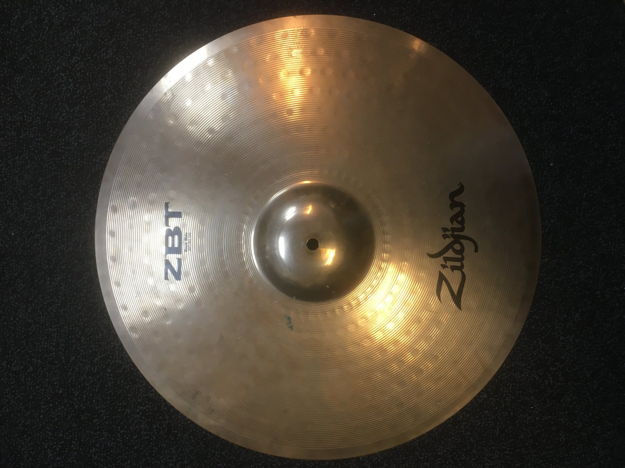 Zildjian ZBT20RR 20 ZBT Rock Ride Cymbal - USED