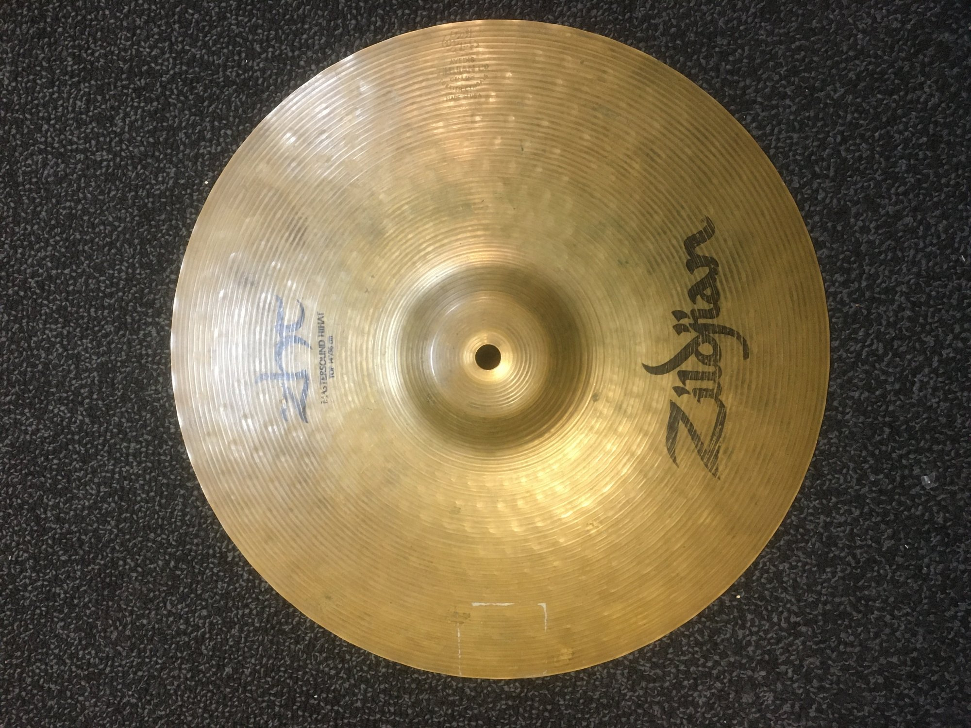 Zildjian ZHT14MPR ZHT Mastersound Hi-Hat Pair - 14 USED