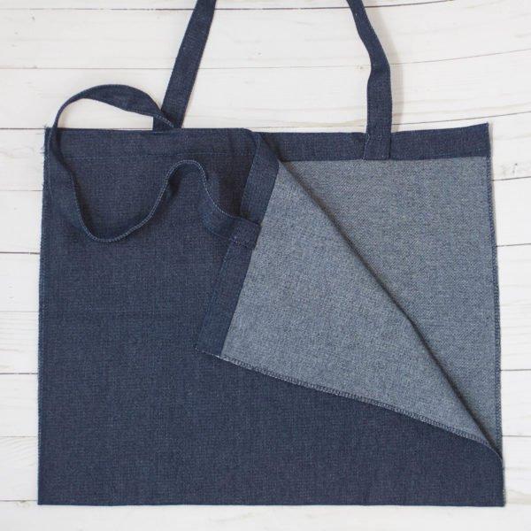 Kimberbell Denim Tote Bag