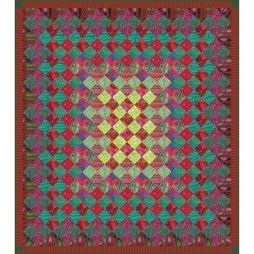 Festive Jewel Quilt Kit by Kaffe