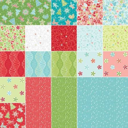 Christmas Magic Fabric Collection- Pre Cuts