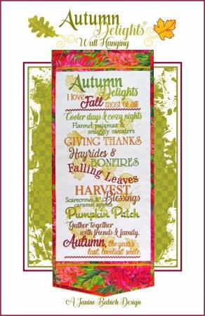 Autumn Delights Wallhanging