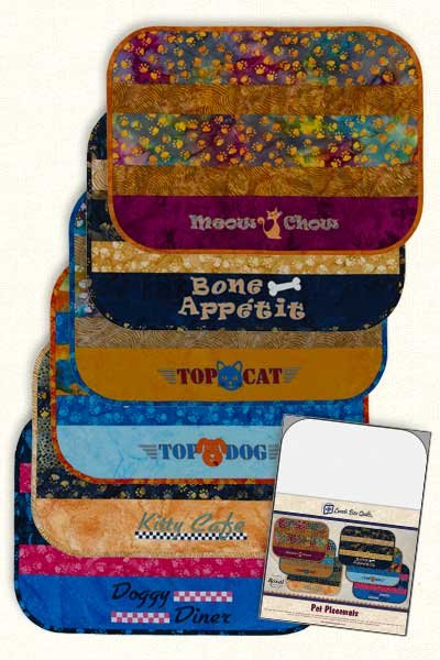Pet Placemats Embroidery CD