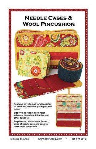 Needle Case & Wool Pincushion Pattern