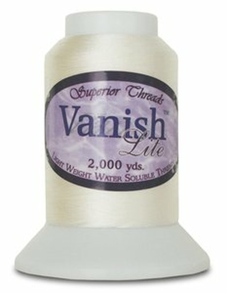 Vanish-Lite Water Soluble Thread