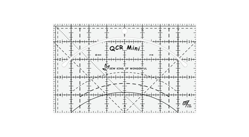 Quick Curve Mini Ruler