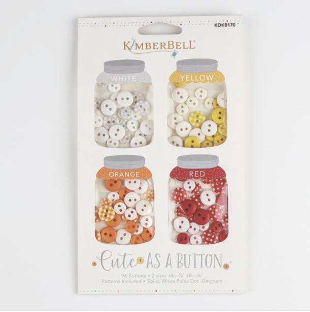 Kimberbellishments: Cute As A Button