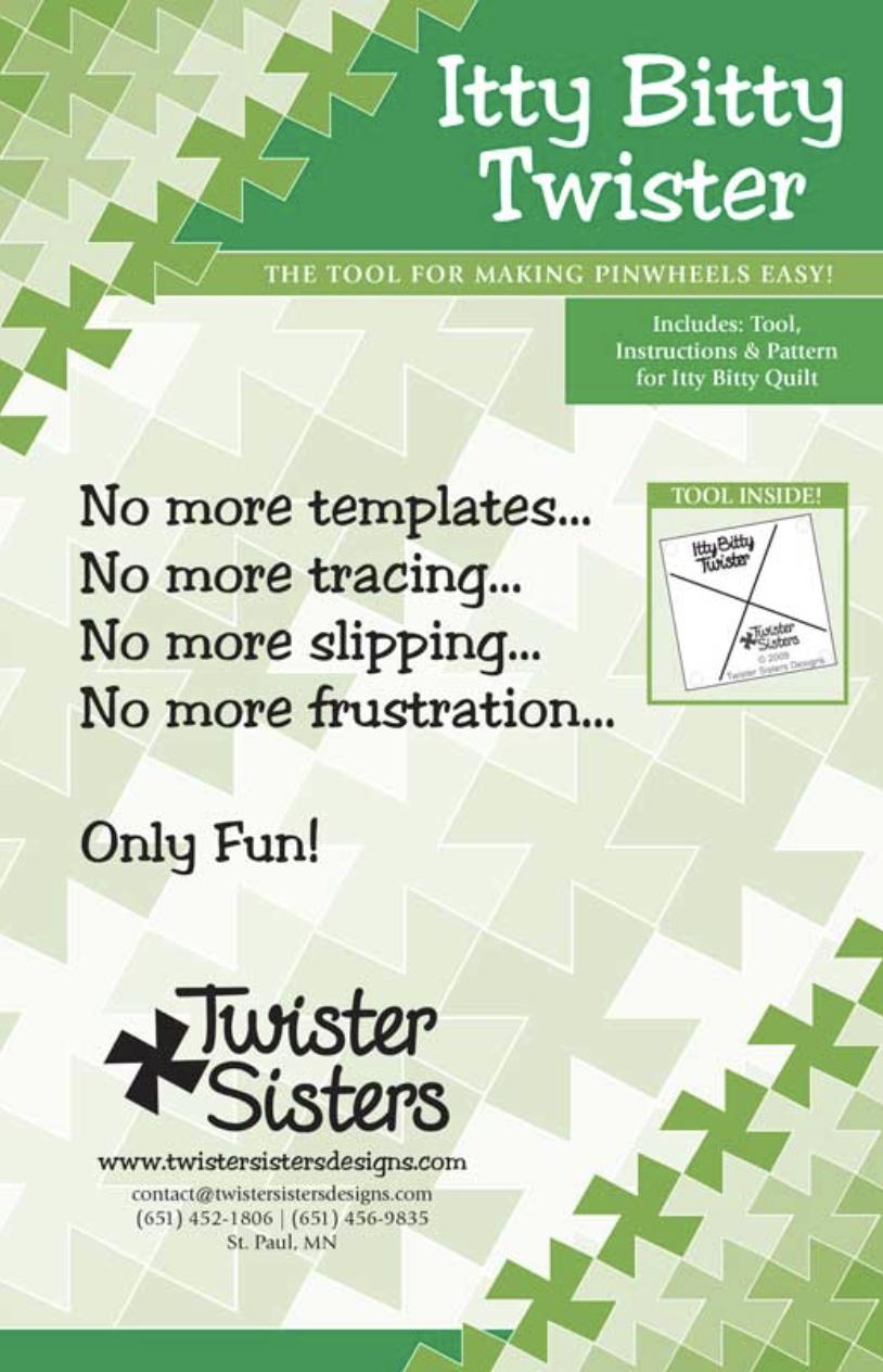 Itty Bitty Twister Pinwheel