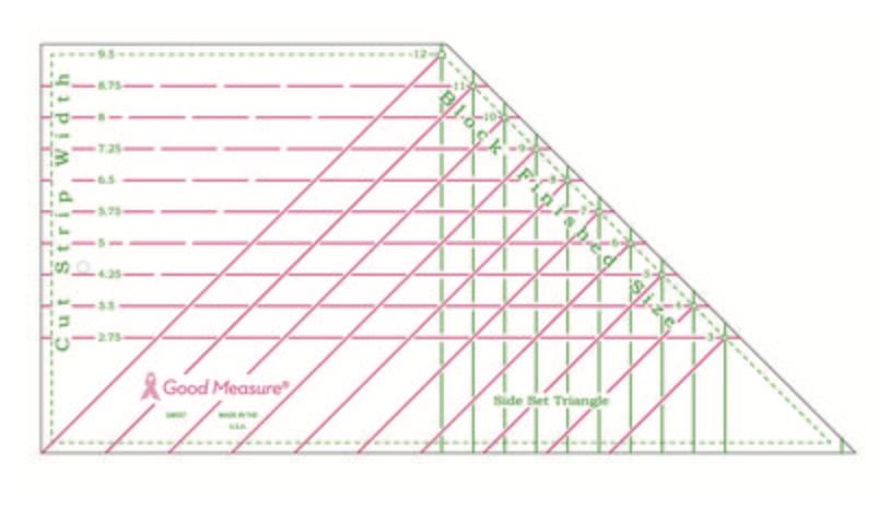 Good Measure Side Set Triangle