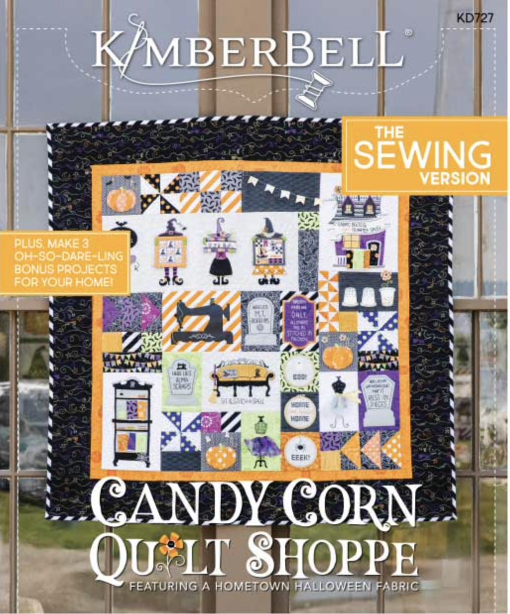 Candy Corn Quilt Shoppe