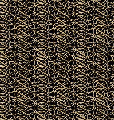 Yuletide-Black Scroll