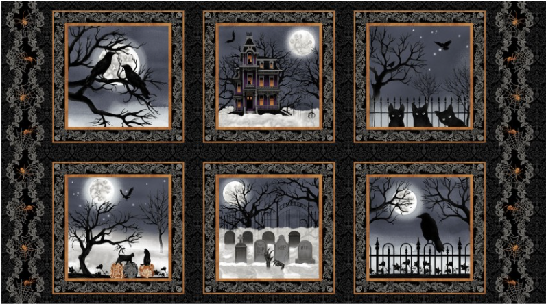 Spooky Night Fabric Collection