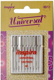 Inspira Universal Needles 80/12 - 10 Pack