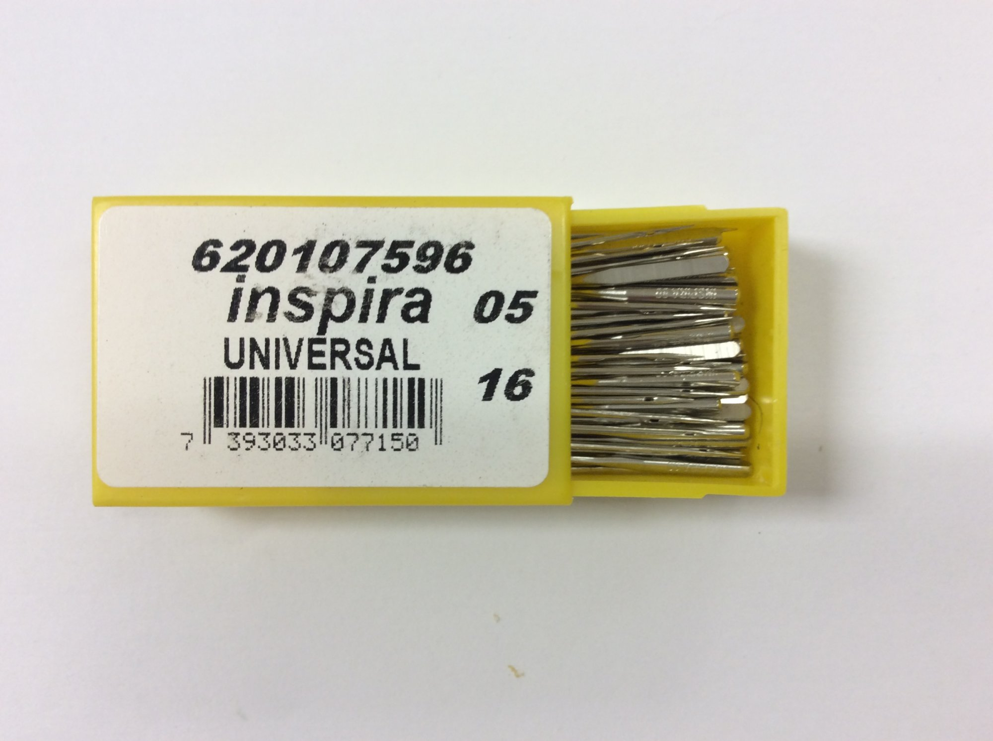 Overlock/Serger Needles (100 pack) Size 80/12 - Inspira