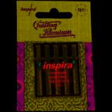 Inspira Quilting Titanium Needles 75/11